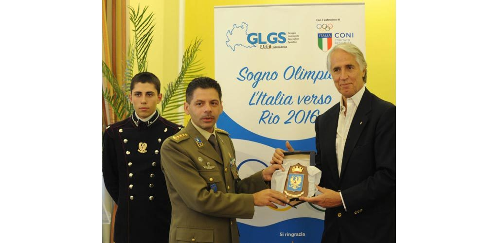 """""""SOGNO OLIMPICO – L'ITALIA VERSO RIO 2016"""": MALAGO' ALL'INCONTRO GLGS-USSI A MILANO"""