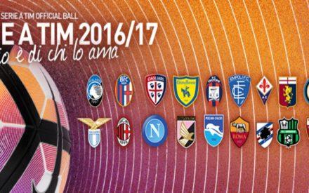 CALENDARIO SERIE A 2016-17: SUBITO JUVE-FIORENTINA