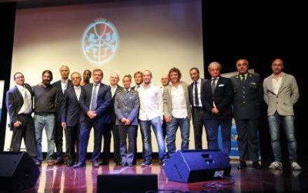 LE STELLE DELLO SPORT BRILLANO A CAMPIONE D'ITALIA