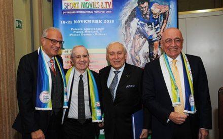 SPORTMOVIES & TV 2016 AL VIA  COL TRIO OLANDESE DEL GRANDE MILAN