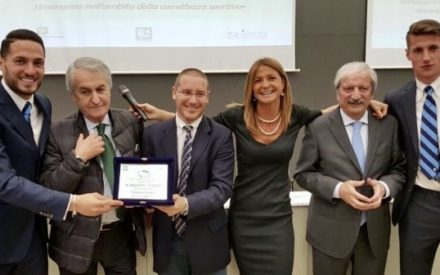 "PREMIO ""FAIR PLAY CALCIO E TV"" CORECOM LOMBARDIA"