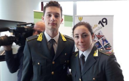 """""""SPORT E LEGALITA': TORTU E GOGGIA TESTIMONIAL INIZIATIVA GDF-REGIONE-SCUOLA"""