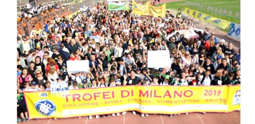 """SPORT E SCUOLA: GRANDE PARTECIPAZIONE AI """"TROFEI DI MILANO"""""""